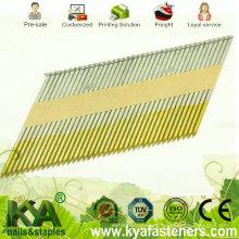Clavos de cinta de papel galvanizado en caliente DIP