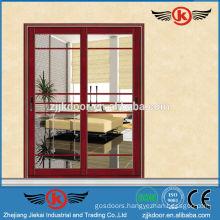 JK-AW9100 elegant design hot selling aluminum sliding door glass door
