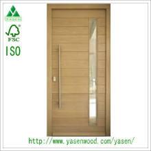 Customized Entry Mahogany Solid Wood Door