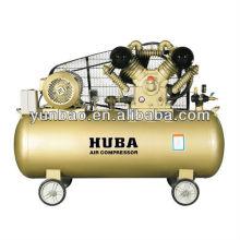 Hochdruck-Druckluftkompressor mit 12 bar und 10 PS Keilrippenantrieb