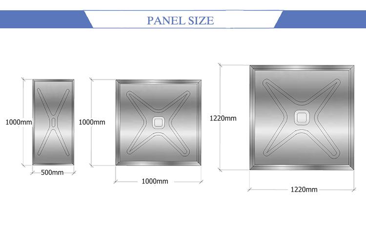 water tank panel