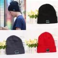 Bonnet d'hiver à tricoter Casquette Bluetooth Beanie Hat