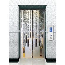 Ascenseur panoramique et visuel avec cabine circulaire, 1.0m / s, 1.5m / s, 1.75m / s