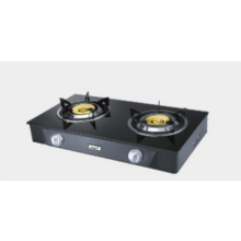 Il piano in vetro temperato Cook Tops Double Burner