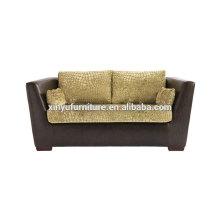 Modern velvet fabric two seater sofa XY3367