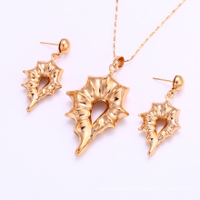 61923 Xuping latest High Quality design saudi gold jewelry Sets, hot sale fashion beautiful jewelry set