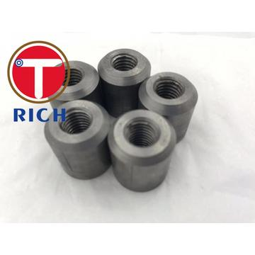 32mm Carbon Steel 1045 Screw Connecting Rebar Tapered Thread Rebar Coupler