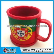 Bar drinkware 2D rubber wine cup