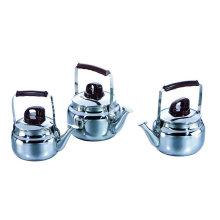 Pot d'échauffement à thé en acier inoxydable