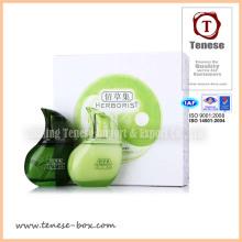 Caja de regalo de cosméticos de impresión offset con tapa