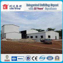 Entrepôt préfabriqué de stockage de préfabriqué mini avec l'entrepôt préfabriqué de stockage de panneau d'unité centrale