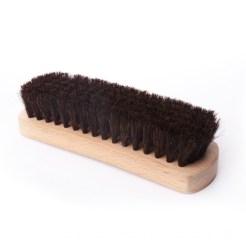 leather scrub brush