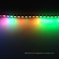 cor mutável 12 volts levou luz da corda à prova d 'água luzes de tira flexível para carros 5050 rgb levou luz de tira 144 levou pixel 12 v
