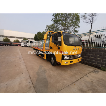 JAC 4x2 flatbed road wrecker tow truck
