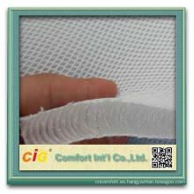 Tela de la malla del aire 3d / tela de malla del tricot / tela de malla del poliéster