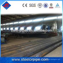 Alibaba exportação de aço inoxidável cronograma 40 erw pipe