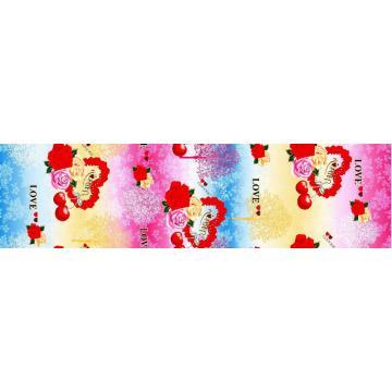 Nouvelle Microfibre Polyester Disperse imprimé drap tissu
