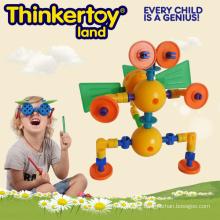 Animal Blocks Plastic Montessori Jouet préscolaire