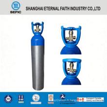 Cylindre de gaz en aluminium à haute pression de 10L (LWH159-10-15)
