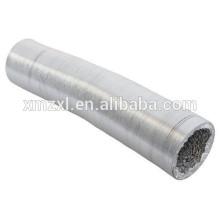Fire resistant aluminum flexible duct