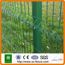 Panel de valla de metal verde soldado 3V