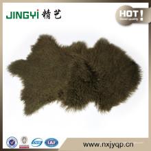 Venta al por mayor Pure Tibetan Mongolian Lamb Fur Sheep SKin