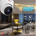 Cablagem da câmara dome cctv IP de 5MP