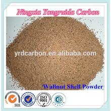 Standard 16, 20, 24, 30, 36 Mesh Abrasive Wallnut Shell Powder