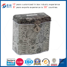 Components Lids Pressed Money and Coin Bank Tin Can