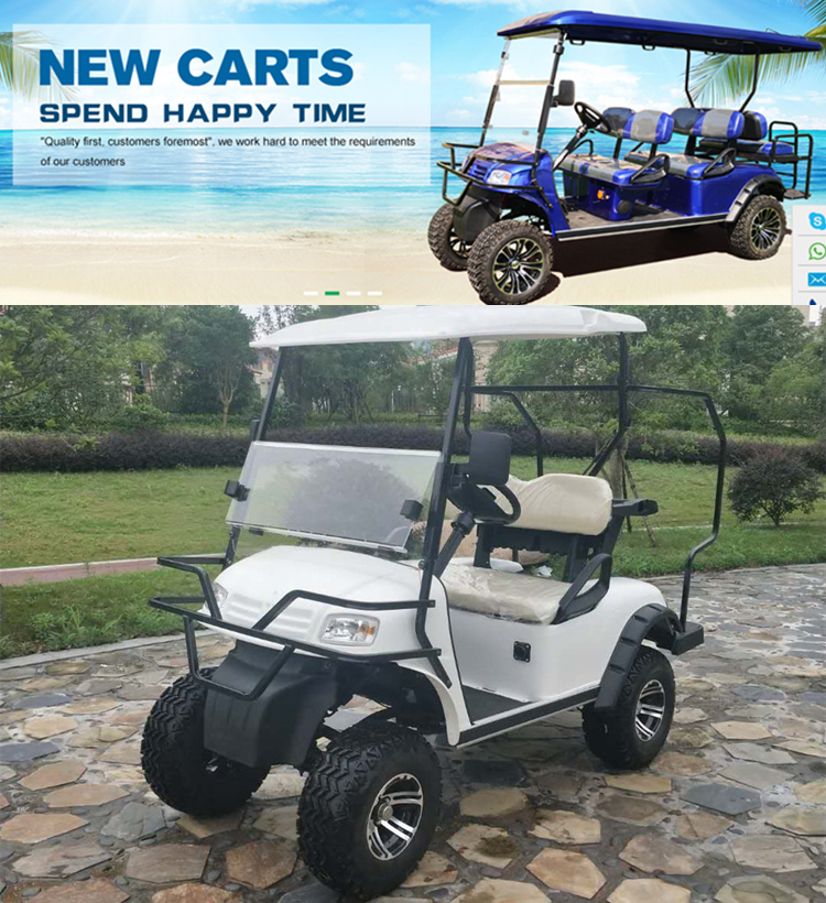 2 Seaters Off Road Golf Carts