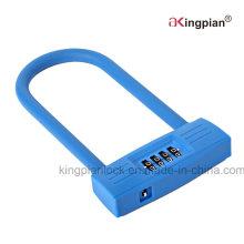 Long Shackle Code Combination U Lock for Bike and Door