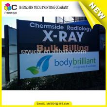 Großhandel Produkte Porzellan benutzerdefinierte bedruckbare Scrim Vinyl Banner und PVC Vinyl Banner Zeichen