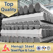 Mild steel erw galvanized pipes large diameter