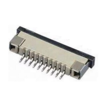 1.0 mm FPC ZIF haaks SMT bodemcontact