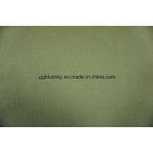 Duplo Faces Lã Tecido Verde Claro