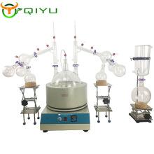 20L Professional Industrial essential oil distiller Short Path glass Distillation For lab