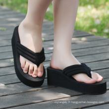 EVA Flip Flops, sandales de plage promotionnelles en gros d'été de la Chine
