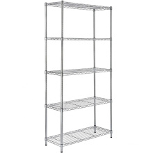 Steel Wire Mesh Divider Detachable Corner Wire Shelf