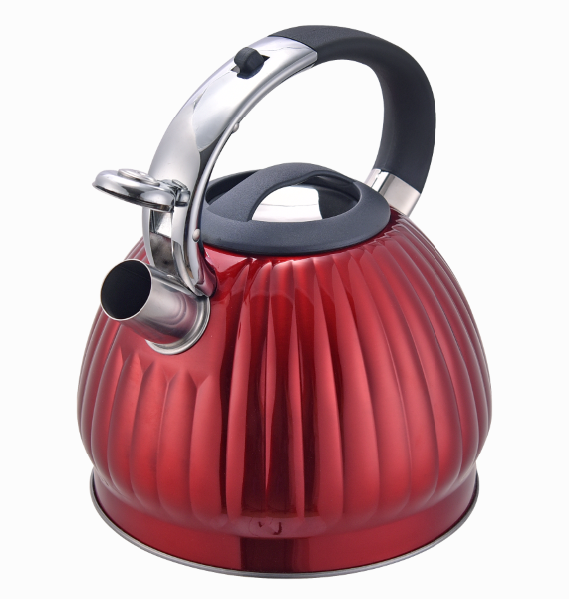Fh 551 Red Christmas Whistle Tea Kettle