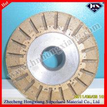 Rueda de diamante / rueda de segmento segmentada periférica