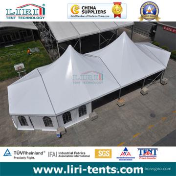 Высокий пик шатер 20х30 алюминий с ясным окном PVC боковин для продажи