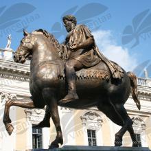 Famosa estátua de cavalo Roma Itália (personalizar está disponível) C