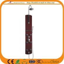 Black Glass Shower Panel (YP-018)