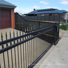 cerca composta de alumínio do metal do painel da cerca do jardim