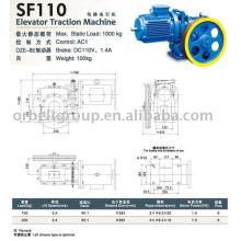 Ascensor Tractor Machine (Geared), Tractor elevador, Elevador