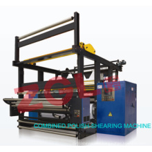 Combined Polish-Shearing Machine for Textile