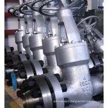 API 600 vanne Standard 1500lb 4 pouces