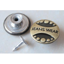 Argent Moving Jeans Boutons B292