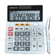 Facultatif 12/14/16 chiffres Calculatrice Dual Power Office (CA1092C)