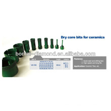New V-tech construction diamond dry core drills for ceramic